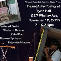 Beaux Arts Poetry Ball