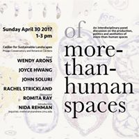Of More-than-Human Spaces Panel Discussion
