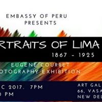Inauguration Portraits of Lima (Photography Exhibition)