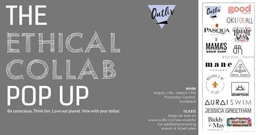 Ethical Collab Pop Up