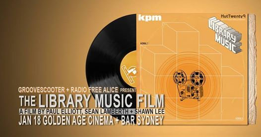 The Library Music Film - Sydney Screening at Golden Age