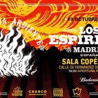 Los Espritus en Madrid - Gira Agua Ardiente 2017