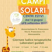 Campi solari - Centri estivi -