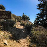 Pacific Crest Trail segmentIslip Saddle to Mount Islip