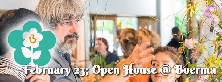 Open House at Boerma February 23
