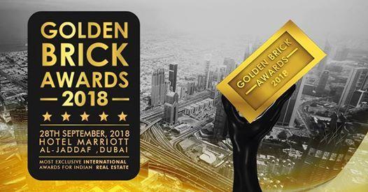 The golden brick awards 2018 at marriott hotel al jaddaf dubai dubai