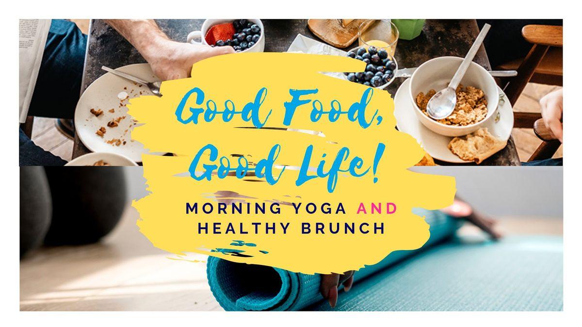 My Sunday Morning Treat YogaBrunch