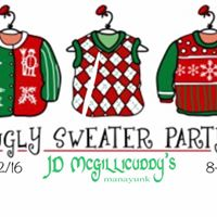 Ugly Sweater Party at JD McGillicuddys MYK