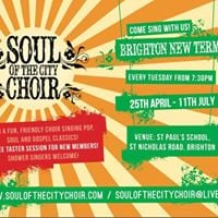 Come sing with us - free taster sessions to new members