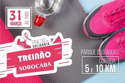 Treino Pink Run Solidria - Sorocaba