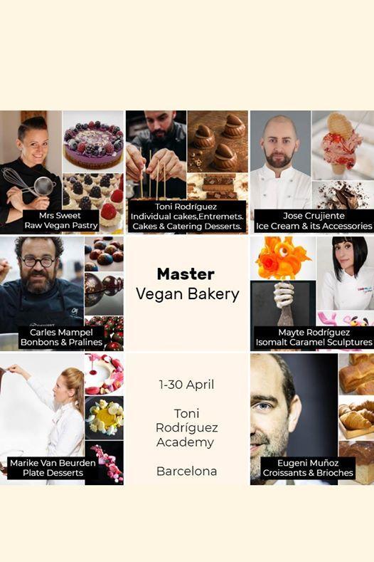 Master Vegan Bakery - Master Pastelera Vegana