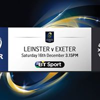 Live Rugby Leinster v Chiefs 3.15pm