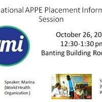 International APPE Placement Information Session