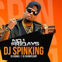 No.1 FRIDAYS DJ SPINKING  XL DUBAI 210717