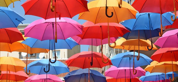 Aging in Park Slope with Umbrella
