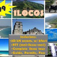 Ilocos Open Tour Nov 3-5