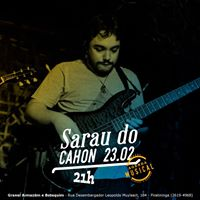 Sarau do Cahon - fev