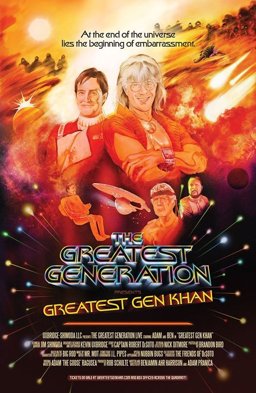 The Greatest Generation Podcast Star Trek Ii The Wrath Of Khan At