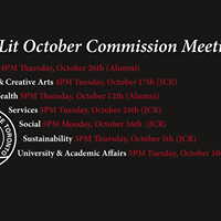 Athletics Commission October Meeting
