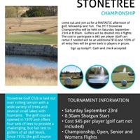 Stonetree Championship