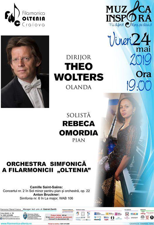 Concert Saint-SansTheo WoltersRebeca Omordia