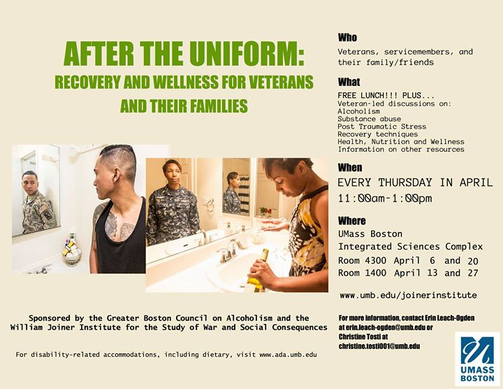 After the Uniform: Recovery and Wellness Program For Veterans an