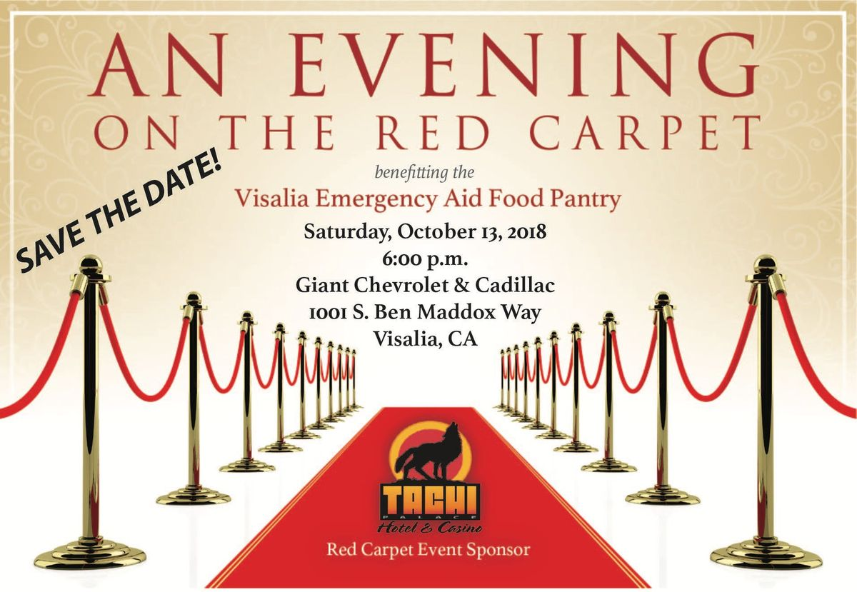 evening on the red carpet at giant chevrolet cadillac visalia