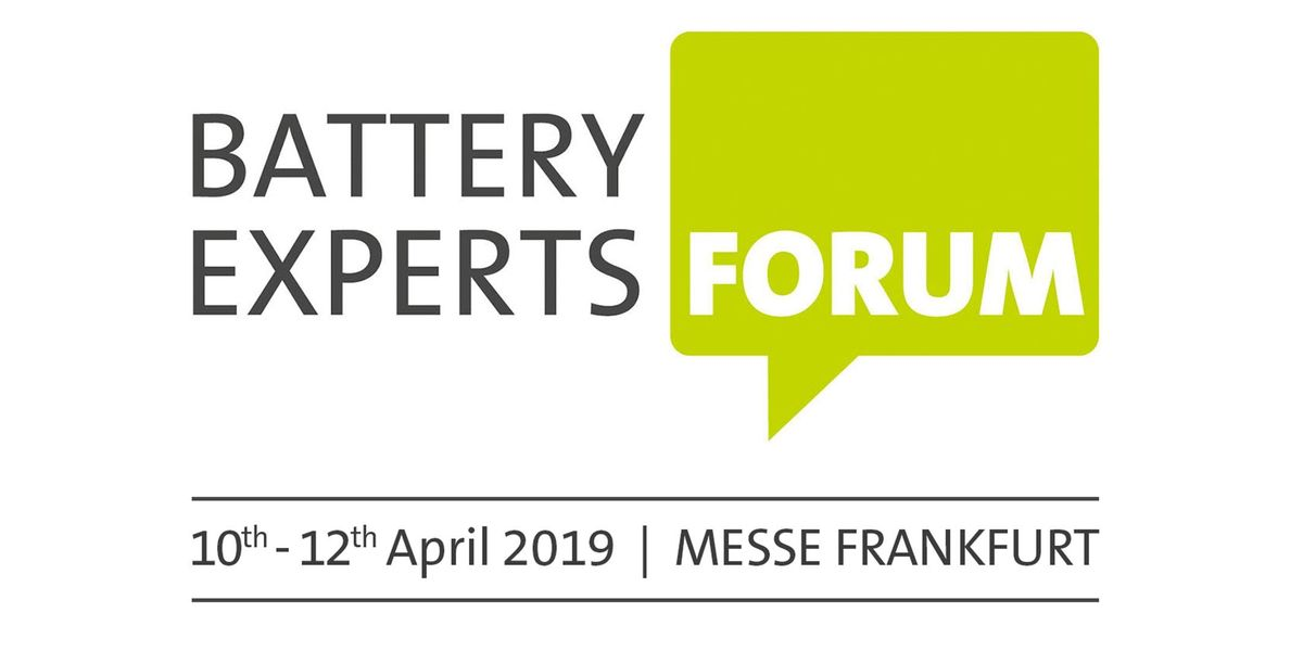 16th Battery Experts Forum 2019
