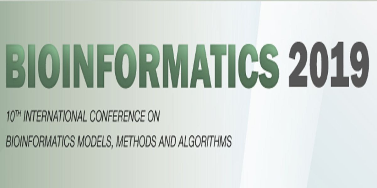 BioInformatics 2019 - 10th International Conference on BioInformatics Models Methods and Algorithms (ins) AS