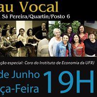 Sarau Vocal- apresentao grupos vocais no Olho da Rua