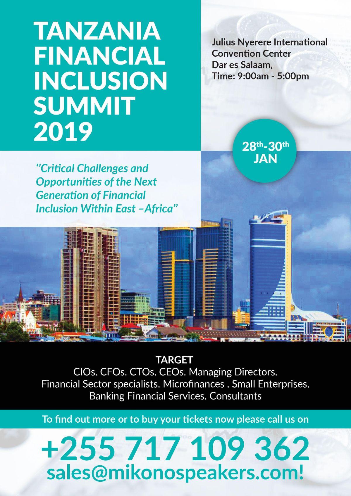 Tanzania Financial Inclusion Summit 2019