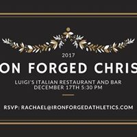 Iron Forged Christmas Party