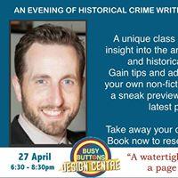 David Bullocks Historical Crime Writing &amp Book Signing Evening