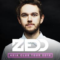 Zedd - Asia Club Tour 2018 Singapore Singapore - Sold Out