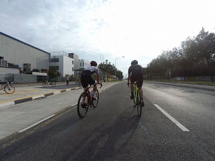 Ucycling Team Time Trial Recce  Training Ride