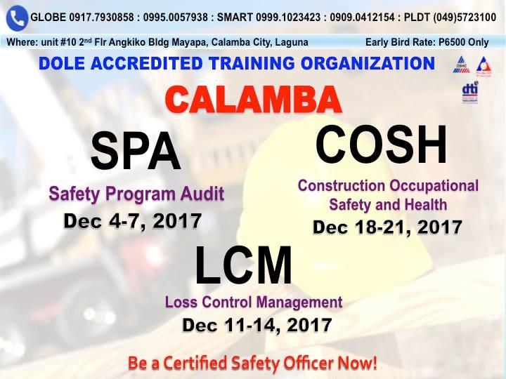 Safety Program Audit (SPA Training) at QSAFE Industrial Safety Ent