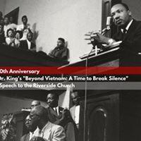Columbia University Uprising Seminar Breaking Silence