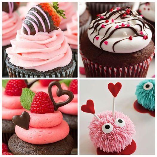 Valentines day Cupcake Class.