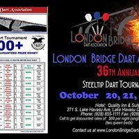 London Bridge Dart Assoc. 36th Annual Steeltip Dart Tournament