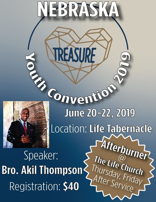 Nebraska Youth Convention 2019 at Life Tabernacle Lincoln, Lincoln