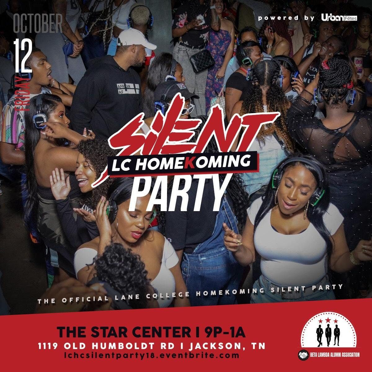 official silent party 2018 lane college homekoming edition at the