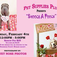 Smooch a Pooch Fundraiser