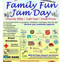 Family Fun Jam Day &amp Info Fest