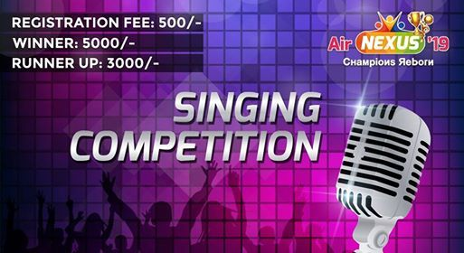 Singing Competition at AirNexus, Islamabad