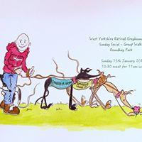 Sunday Social - Group Greyhound Walk