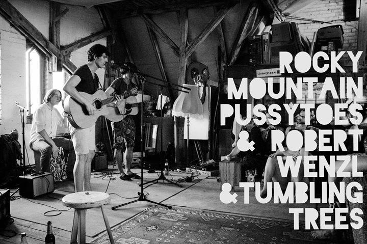 Wohnzimmer Konzert Rocky Mountain Pussytoes Robert Wenzl
