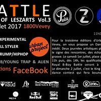 King of Leszarts Battle  Urban Project Vevey