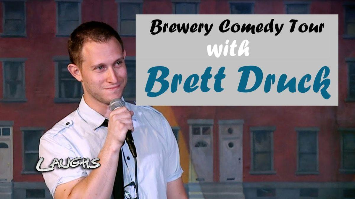 BREWERY COMEDY TOUR with Brett Druck in Newark DE