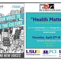Live Radio Forum for Sexual Assault Awareness