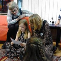 Fighting Words Belfast volunteer training session